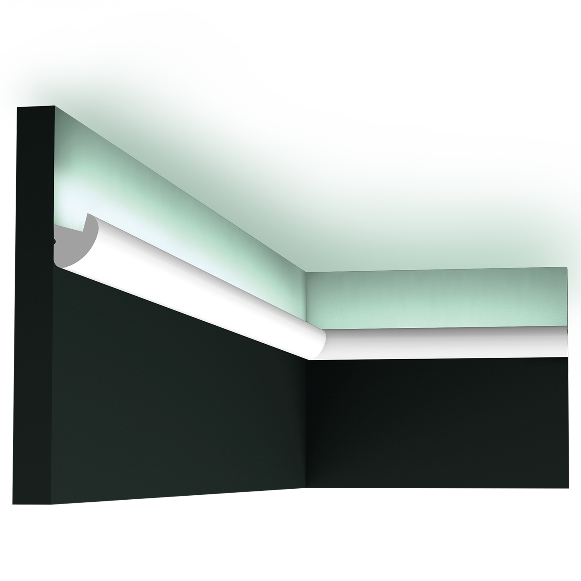 Cx188 Rounded Indirect Lighting Flexible Option Availaible 200x3 4x3cm